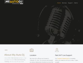 myautodj.com screenshot