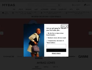 mybag.co.uk screenshot