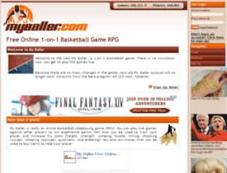 myballer.com screenshot