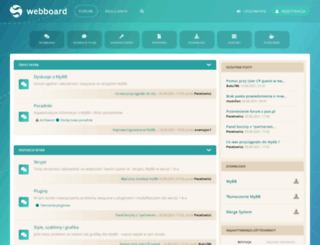 mybboard.pl screenshot