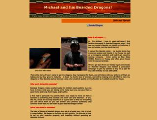 mybeardeddragons.co.uk screenshot