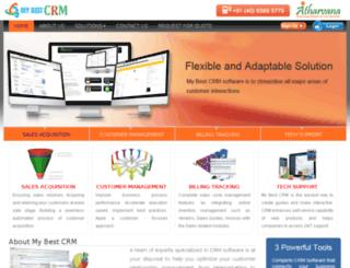 mybestcrm.com screenshot