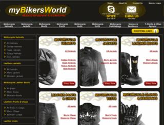 mybikersworld.com screenshot