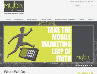mybizmobile.com.au screenshot