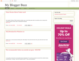 mybloggerbuzz.com screenshot