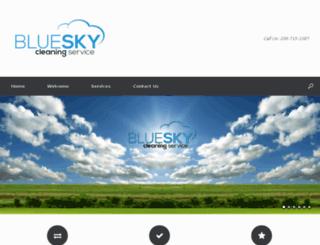myblueskycleaning.com screenshot