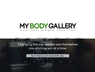 mybodygallery.com screenshot