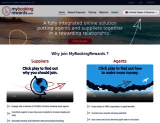 mybookingrewards.com screenshot