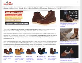 mybootprint.com screenshot