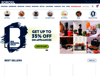 myborosil.com screenshot