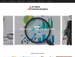 mybreakthroughbusiness.com screenshot