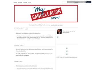 mycancellation.com screenshot