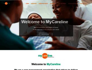 mycareline.in screenshot