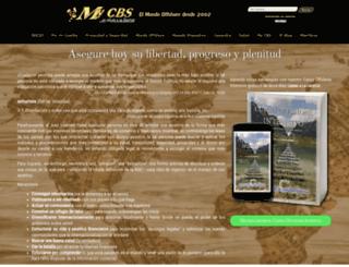 mycbs.biz screenshot