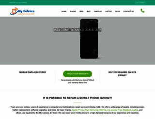 mycelcare.com screenshot