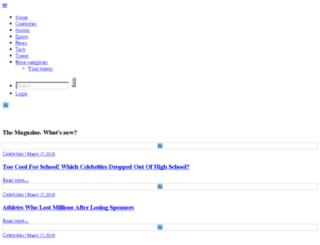 mycelebfeed.com screenshot