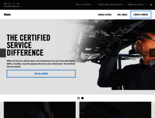 mycertifiedservice.com screenshot