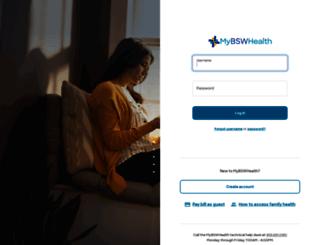mychart.sw.org screenshot