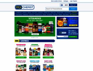mychemist.com.au screenshot