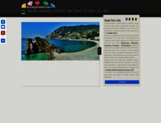 mycinqueterre.com screenshot
