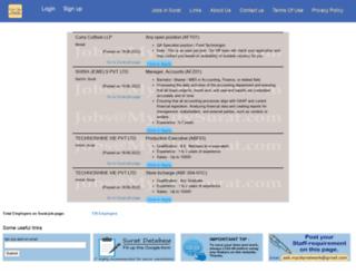 mycitysurat.com screenshot