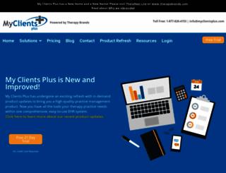 myclientsplus.com screenshot