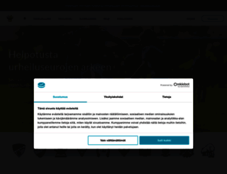 myclub.fi screenshot