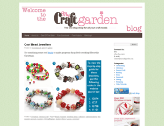mycraftgardenblog.com screenshot