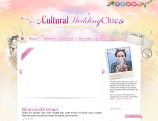 myculturalweddingchic.com screenshot