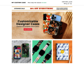 mycustomcase.com screenshot