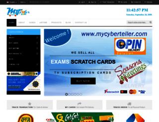mycyberteller.com screenshot