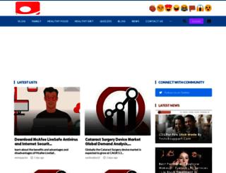 mydailyactivities.com screenshot