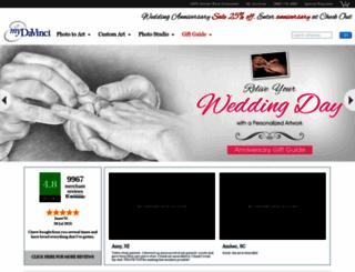 mydavinci.com screenshot