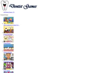 mydentistgames.com screenshot