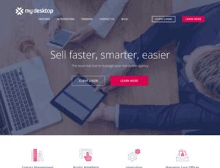 mydesktop.com.au screenshot