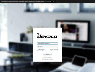 mydevolo.com screenshot