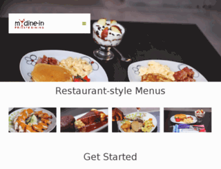 mydinein.com screenshot