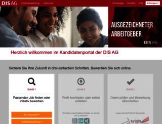 mydisat.dis-ag.com screenshot