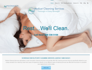 mydustclean.com screenshot