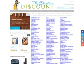 myedudiscounts.com screenshot