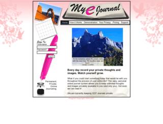 myejournal.com screenshot