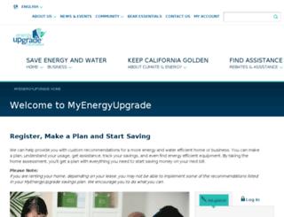 myenergy.energyupgradeca.org screenshot