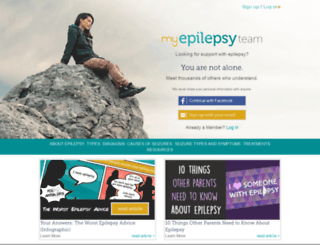 myepilepsyteam.com screenshot