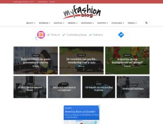 myfashionblog.be screenshot