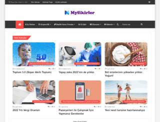 myfikirler.org screenshot