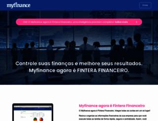 myfinance.com.br screenshot