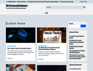 myfinancialsoftware.com screenshot
