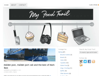 myfoodtrail.blogspot.com screenshot