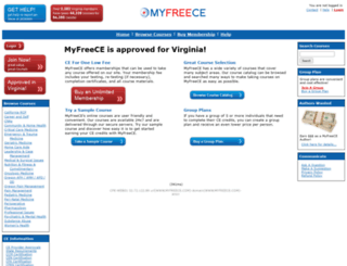 myfreece.com screenshot
