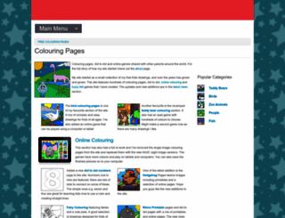 myfreecolouringpages.com screenshot